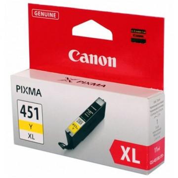 Картридж струйный Canon CLI-451XLY, 6475B001