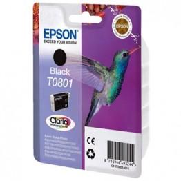 Картридж струйный Epson T0801, C13T08014010