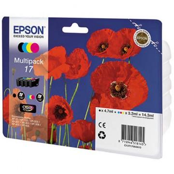 Комплект струйных картриджей Epson 17, C13T17064A10