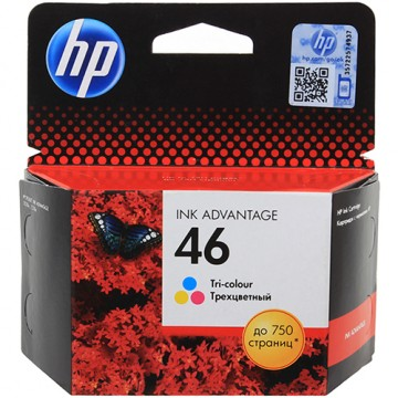 Картридж струйный HP 46, CZ638AE