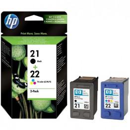 Комплект струйных картриджей HP 21+22, SD367AE