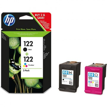 Комплект струйных картриджей HP 122, CR340HE