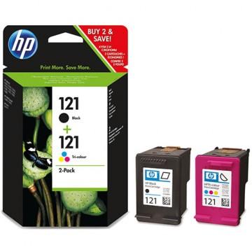 Комплект струйных картриджей HP 121, CN637HE
