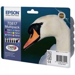 Комплект струйных картриджей Epson T0817, C13T11174A10