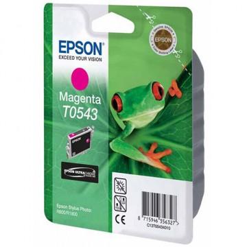 Картридж струйный Epson T0543, C13T05434010