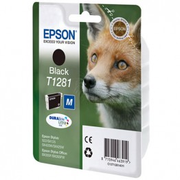 Картридж струйный Epson T1281, C13T12814010