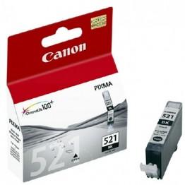 Картридж струйный Canon CLI-521BK, 2933B001