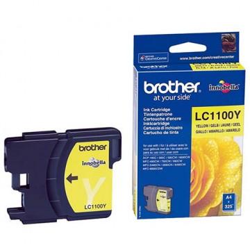 Картридж струйный Brother LC-1100Y
