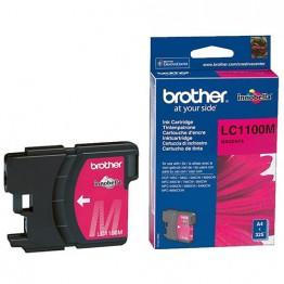 Картридж струйный Brother LC-1100M