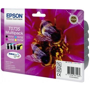 Комплект струйных картриджей Epson T0735, C13T10554A10