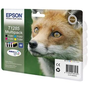Комплект струйных картриджей Epson T1285, C13T12854010