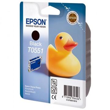 Картридж струйный Epson T0551, C13T05514010