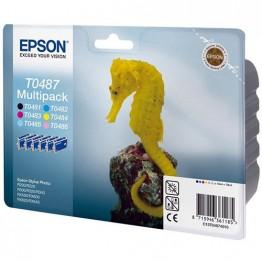 Комплект струйных картриджей Epson T0487, C13T04874010