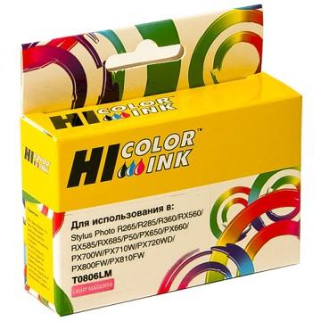 Картридж струйный Epson T0806, C13T08064010 (Hi-Black)