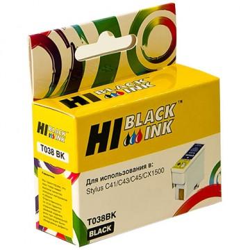 Картридж струйный Epson T038, C13T03814A10 (Hi-Black)