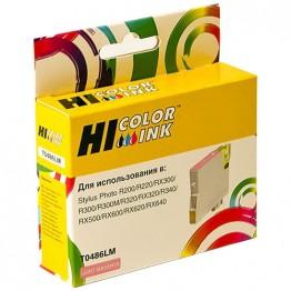 Картридж струйный Epson T0486, C13T04864010 (Hi-Black)