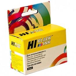 Картридж струйный Epson T0511, C13T05114210 (Hi-Black)