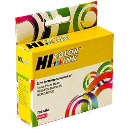 Картридж струйный Epson T0553, C13T05534010 (Hi-Black)