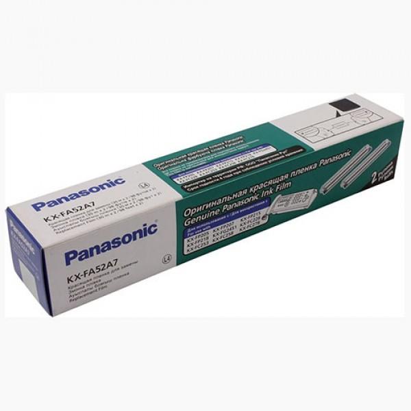 Термопленка Panasonic KX-FA55A для факсов KX-F 80/82/85/86/88/153/158 KX-FPC 91/95 в упаковке 2 ролика по 50 метров. 12 шт в уп.