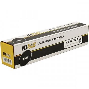 Картридж лазерный Panasonic KX-FAT92A (Hi-Black)