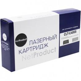 Картридж лазерный Samsung CLT-C406S (NetProduct)