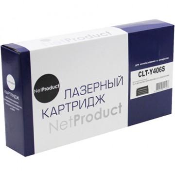 Картридж лазерный Samsung CLT-Y406S (NetProduct)