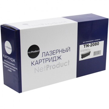 Картридж лазерный Brother TN-2080 (NetProduct)