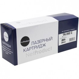 Картридж лазерный Kyocera TK-560C (NetProduct)