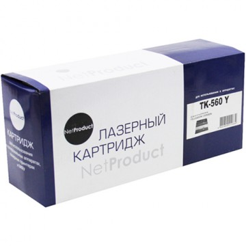 Картридж лазерный Kyocera TK-560Y (NetProduct)