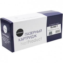 Картридж лазерный Kyocera TK-590Y (NetProduct)