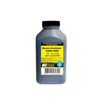 Тонер Epson Aculaser C900/1900/QMS2300 (Hi-Color), C, 150 г, банка