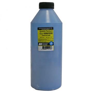 Тонер HP CLJ 5500/5550 химический (Hi-Color) C, 345 г, банка
