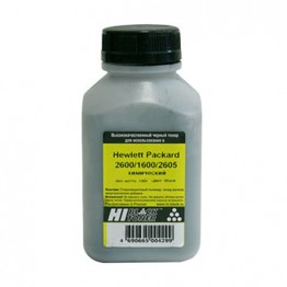 Тонер HP CLJ 2600/1600/2605 химический (Hi-Black), BK, 100 г, банка