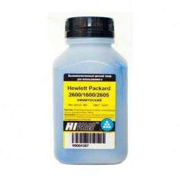 Тонер HP CLJ 2600/1600/2605 химический (Hi-Color) C, 85 г, банка