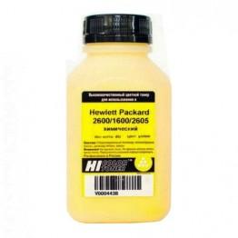 Тонер HP CLJ 2600/1600/2605 химический (Hi-Color) Y, 85 г, банка