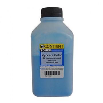 Тонер Kyocera Color TK Универсальный (Content), С, 200 г, банка