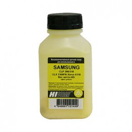 Тонер Samsung CLP 300/310/CLX 3160FN/Xerox 6110 (Hi-Color) Y, 45 г, банка