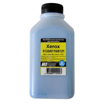 Тонер Xerox Phaser 6120/6115/6121 (Hi-Color) C, 175 г, банка