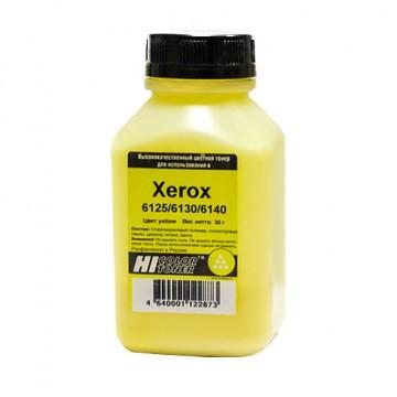 Тонер Xerox Phaser 6125/6130/6140 (Hi-Color), желтый