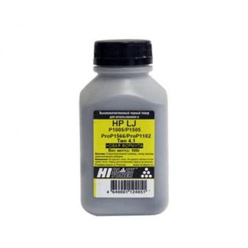 Тонер HP LJ P1005/P1505/ProP1566/ProP1102 (Hi-Black), новая формула, Тип 4.1, 100 г, банка