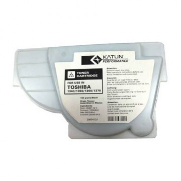 Тонер Toshiba 1340/1350/1360/1370 (Katun) 2 лепестка, 180 г, туба