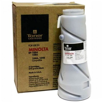 Тонер Minolta EP 1054/1085/2030 (Katun) 104B, 270гр, туба