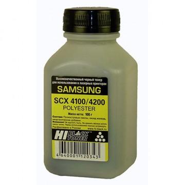 Тонер Samsung SCХ 4100/4200/4300/Xerox 3119/3210 (Hi-Black), Тип 1.4, Polyester, 100 г, банка
