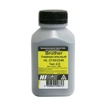 Тонер Brother Универсальный HL-2130/2240/L2300d (Hi-Black), Тип 2.0, 100 г, банка