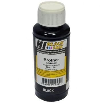 Чернила Brother универсальные (Hi-Black), 0,1л, BK