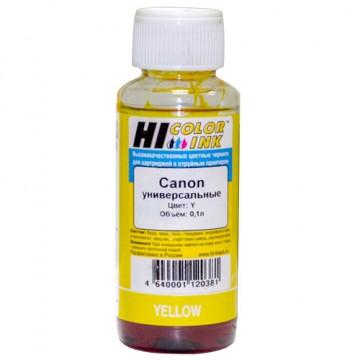 Чернила Canon универсальные 0,1л (Hi-Color) Y