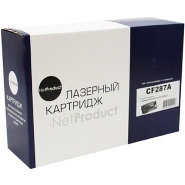 Картридж лазерный HP 87A, CF287A (NetProduct)